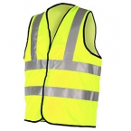 Hi Viz Vest - High Visibility Sleevless Vests