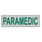 Large Paramedic Heat Applied Reflective Badge
