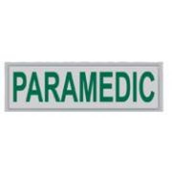 Small Paramedic Encapsulated Reflective Badge