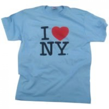 I Love NY  - Custom Printed T-Shirt