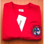 St Alban's C of E School Sweat Cardigan