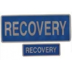 Large Recovery Encapsulated Reflective Badge
