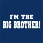 I'm the Big Brother - Custom Printed T-Shirt