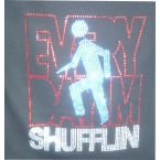 Every Day Im Shufflin Diamonte - Custom Printed Hoody