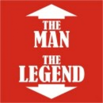 The Man, The Legend  - Funny Printed T-Shirt